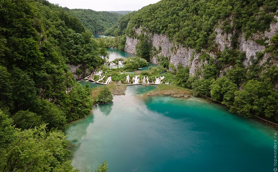 Плитвицкие Озера - самый главный национальный парк Хорватии